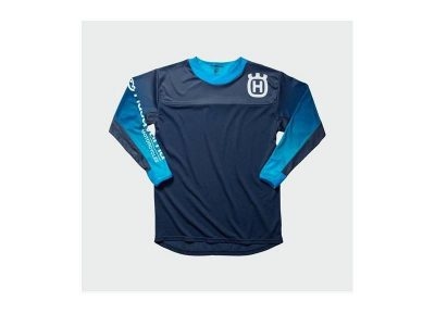 Блуза GOTLAND SHIRT BLUE HUSQVARNA
