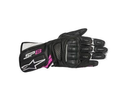 Ръкавици STELLA SP-8 V2 BLACK WHITE FUCHSIA ALPINESTARS