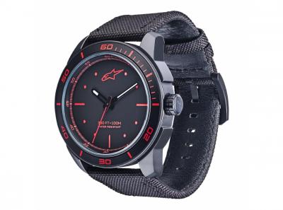 Часовник T.WATCH черен със червено