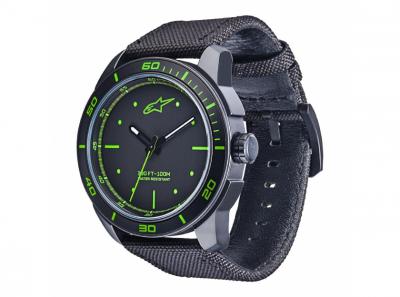 Часовник T.WATCH черен със зелено