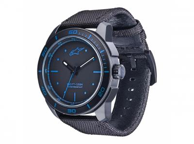 Часовник T.WATCH черен със синьо