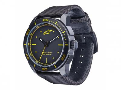 Часовник T.WATCH черен с жълто