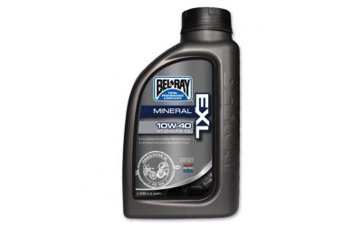 Масло BEL RAY EXL MOTORCYCLE OIL 10W-40 1L