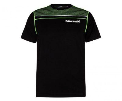 Черна тениска с надпис.