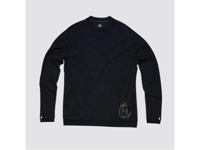 Черен блузон с лого.