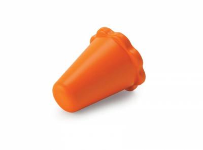Оранжева голяма тапа за ауспух.