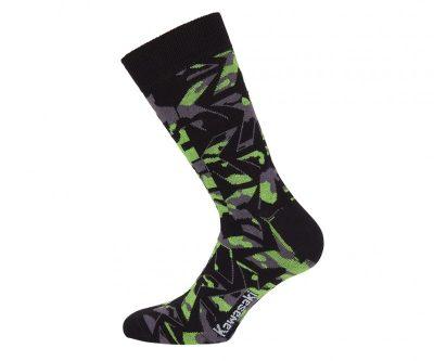 Зелено-черни чорапи.