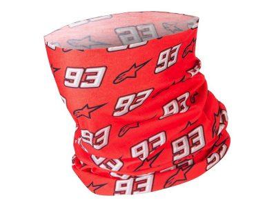 Червено - бяло боне с надпис.