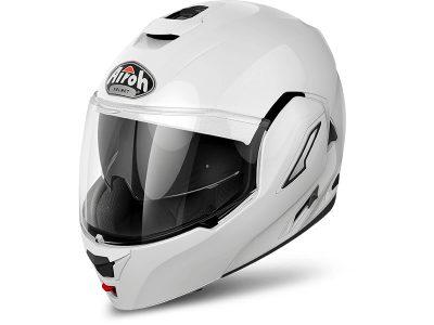 Бяла каска с лого.
