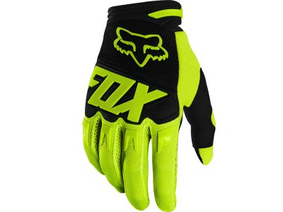 Детски ръкавици YTH DIRTPAW GLOVE – RACE FLO/YLW FOX
