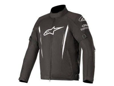 Яке GUNNER V2 WATERPROOF JACKET BLACK WHITE ALPINESTARS