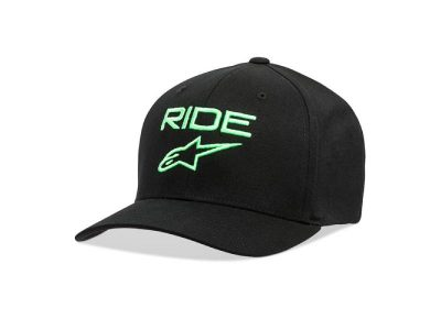 Шапка RIDE 2.0 HAT BLACK GREEN ALPINESTARS