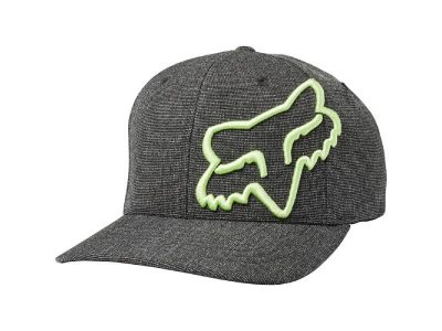 Шапка CLOUDED FLEXFIT HAT BLACK GREEN FOX