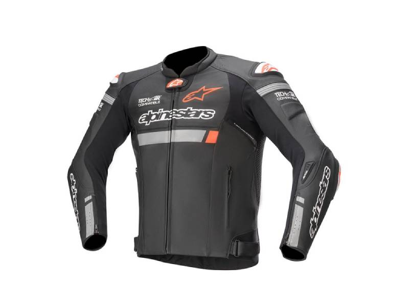 Яке MISSILE IGNITION LEATHER JACKET TECH-AIR® COMPATIBLE GRAPHIC ALPINESTARS