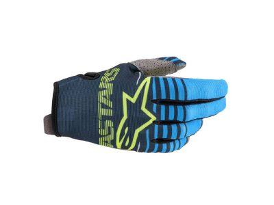 Детски ръкавици YOUTH RADAR GLOVES NAVY AQUA ALPINESTARS