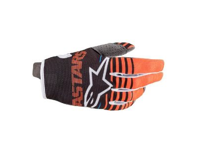 Детски ръкавици YOUTH RADAR GLOVES ANTHRACITE ORANGE ALPINESTARS