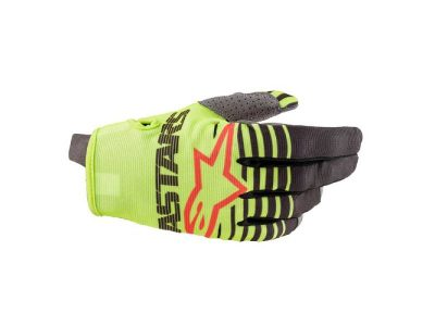 Детски ръкавици YOUTH RADAR GLOVES YELLOW FL ANTHRACITE ALPINESTARS