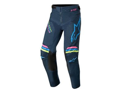 Детски панталон YOUTH RACER BRAAP PANTS NAVY AQUA PINK FLUO ALPINESTARS