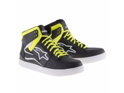 Обувки STADIUM RIDING SHOES BLACK WHITE YELLOW FLUO ALPINESTARS