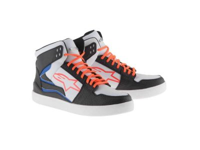 Обувки STADIUM RIDING SHOES BLACK WHITE RED BLUE ALPINESTARS