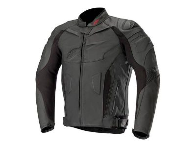 Кожено яке GP PLUS R V2 LEATHER JACKET BLACK BLACK ALPINESTARS