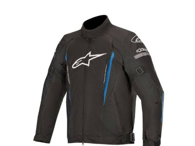 Яке GUNNER V2 WATERPROOF JACKET BLACK BLUE ALPINESTARS