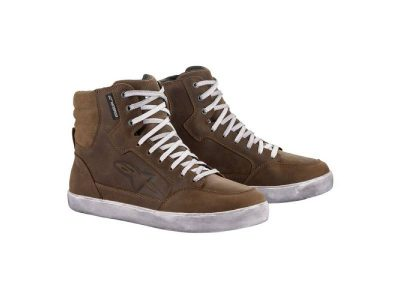 Дамски обувки J-6 WP WOMEN'S SHOES BROWN ALPINESTARS