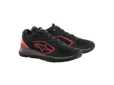 Обувки ALLOY SHOES BLACK RED ALPINESTARS