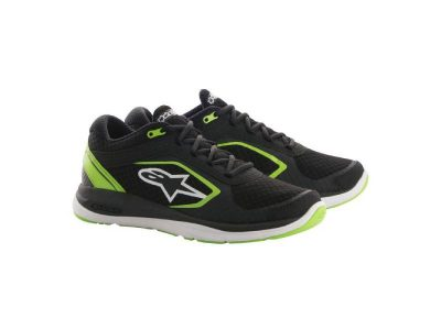 Обувки ALLOY SHOES BLACK GREEN ALPINESTARS