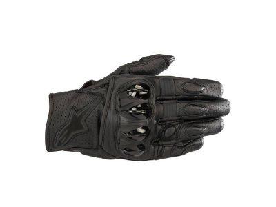 Ръкавици CELER V2 LEATHER BLACK BLACK ALPINESTARS