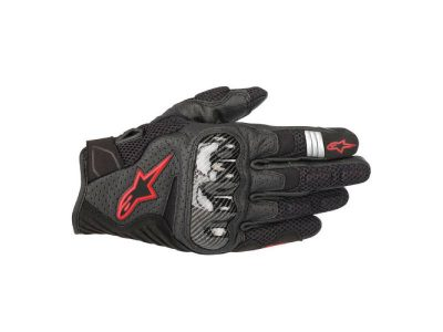 Ръкавици SMX-1 AIR V2 GLOVES BLACK RED ALPINESTARS