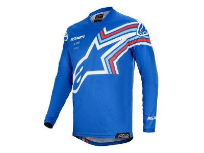 Блуза RACER BRAAP JERSEY BLUE OFF WHITE ALPINESTARS