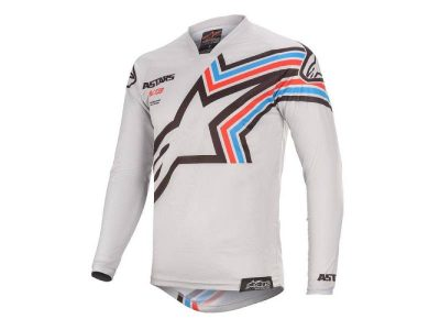 Блуза RACER BRAAP JERSEY L. GRAY BLACK ALPINESTARS