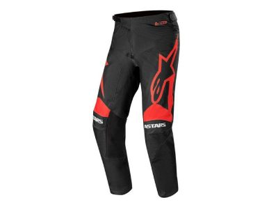 ПАНТАЛОН RACER SUPERMATIC PANTS BLACK BRIGHT RED ALPINESTARS