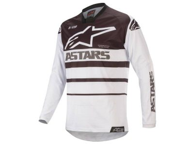 Блуза RACER SUPERMATIC JERSEY WHITE BLACK ALPINESTARS