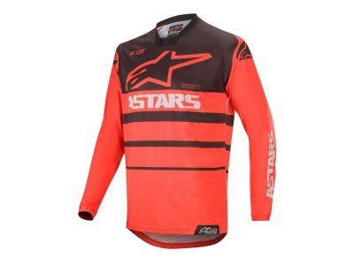 Блуза RACER SUPERMATIC JERSEY BRT RED BLACK ALPINESTARS