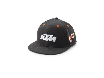 Детска шапка 3PW210023300 KIDS RADICAL CAP BLACK КТМ