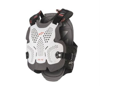 Протектор A-4 MAX CHEST PROTECTOR WHITE ANTH RED ALPINESTARS