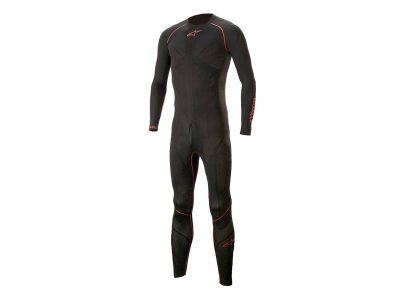 ТЕРМО БЕЛЬО RIDE TECH LITE 1pc BLACK RED ALPINESTARS