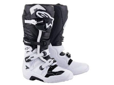 Ботуши TECH 7 BLACK WHITE ALPINESTARS