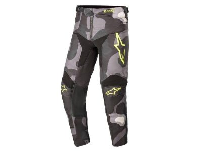 Детски панталон YOUTH RACER TACTICAL PANTS GRAY CAMO YELLOW FLUO ALPINESTARS