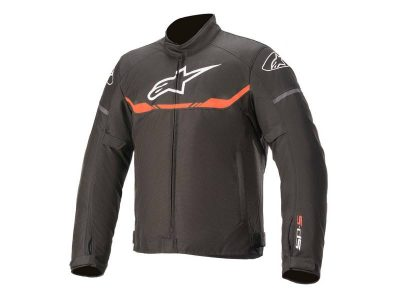 Яке T-SP S WATERPROOF JACKET BLACK RED ALPINESTARS