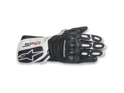 Ръкавици STELLA SP-8 V2 BLACK WHITE ALPINESTARS