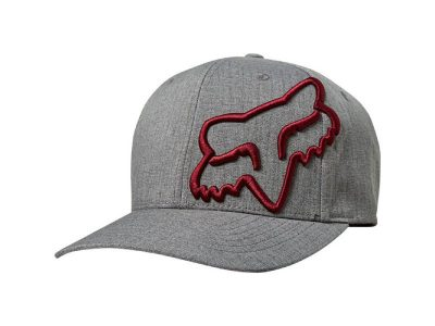 Шапка CLOUDED FLEXFIT HAT GRAY RED FOX