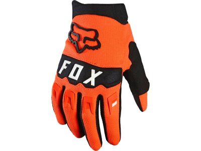Детски ръкавици YTH DIRTPAW GLOVE FLO ORANGE FOX