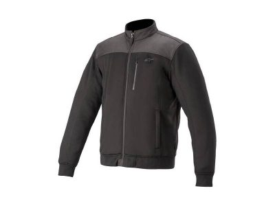 Яке CAFE' TRACK FLEECE BLACK ALPINESTARS
