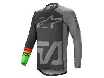 Блуза RACER COMPASS JERSEY BLACK DARK GRAY GREEN ALPINESTARS
