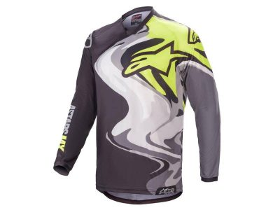 Блуза RACER FLAGSHIP JERSEY BLACK MULTICOLOR ALPINESTARS