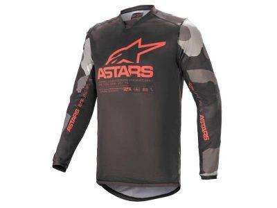 Блуза RACER TACTICAL JERSEY GRAY CAMO RED F ALPINESTARS