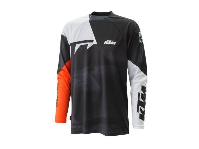 Блуза 3PW21000160 POUNCE SHIRT BLACK KTM